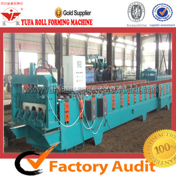 Steel Floor Deck Forming Machine For Metal Structural Building